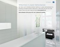 Webdesign und Programmierung Homepage Zahnarztpraxis