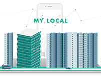 My Local - Mobile Application Design