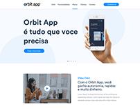 Orbit App - Estudo de interface e diagramação
