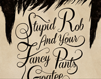 Rob Swire Typographic Poster