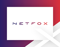 NETFOX - Branding, visual identity and website