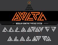 Delta - Modular Typeface Exercise Fall '13