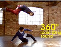 Wireless speaker promotional film