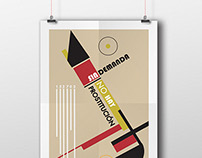 Bauhaus Poster (prostitution themed)