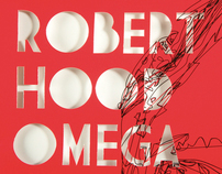 Robert Hood Omega Cover Artwork (vinyl)