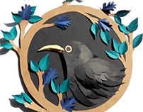 Retrato de un cuervo