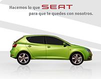 Propuesta de micrositio post-venta y CRM para SEAT.