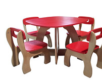 CNC Manufactured Kid's Furniture