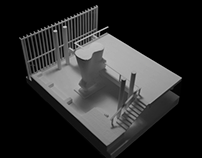 Model study for a hotel in Uruguay