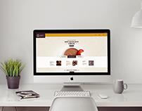 Chocolate Coffee - Website Design