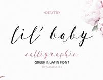 Lil' Baby Greek Script Font