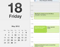 Divide iPad Calendar