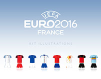 Euro 2016 | Team Kit Illustrations