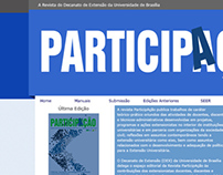 Proposed site redesign to Revista Participação