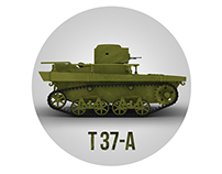 Tank T-37A