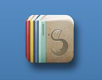 Scrapnote app icon design