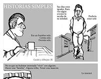 """Historieta """"historias simples"""""""