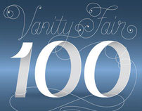 Vanity Fair 100. Custom Type