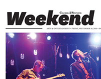 "Columbia Daily Spectator -- ""Weekend"" Redesign"