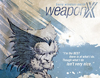Weapon X Cover Designs