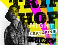 Trip Hop Night Venue Poster