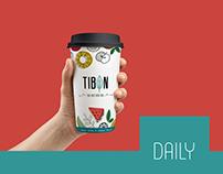 Tibon Tea - Paper Cup Design