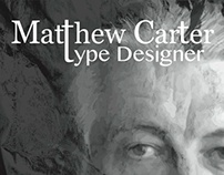 Matthew Carter poster