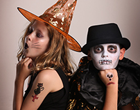 Halloween - Dress up Temporary Tattoos