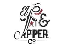 Logo Design 'El Fino' and 'Flapper and Dapper'