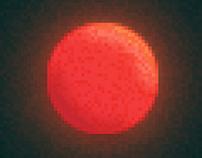 Glowing Planet (Pixel Art // WIP)