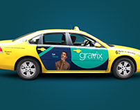 Taxi ads Mockup - Easy