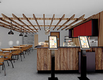 Restaurant Interior Design & 3D Visualization