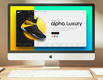 UI Design For a Shoe manufacture