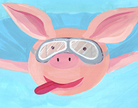 When Pigs Fly - children's book