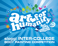 """Art for Humanity"" Body Painting Competition by Sloggi"