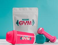 """Logo """"Miami Gym"""""""