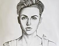 Ruby Rose Portrait
