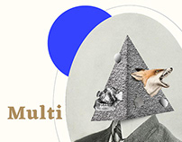 Multifaces | collage serie 008