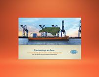North Carolina Ports, Direct Mail