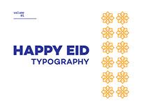 Eid Typography 2020
