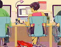 Why My Open Office Feels... Walled In - Philly Mag