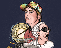 Back to the future - 30th fanmade Artwork