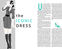 The Iconic Dress - editorial illustration