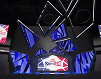 Red Bull Soundclash – Visual identity for musical show