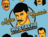 Marion Fontaine's Mustache All-Stars Tshirt