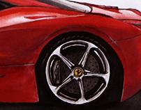 Ferrari 458 Sketch