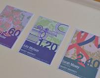 Centennial stamp