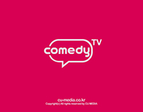 Comedy tv Network Rebrand 2012 Winter