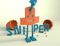Sniper Puppet Design