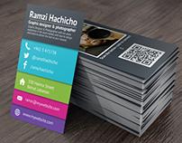 Modern Stylish Business Card Template